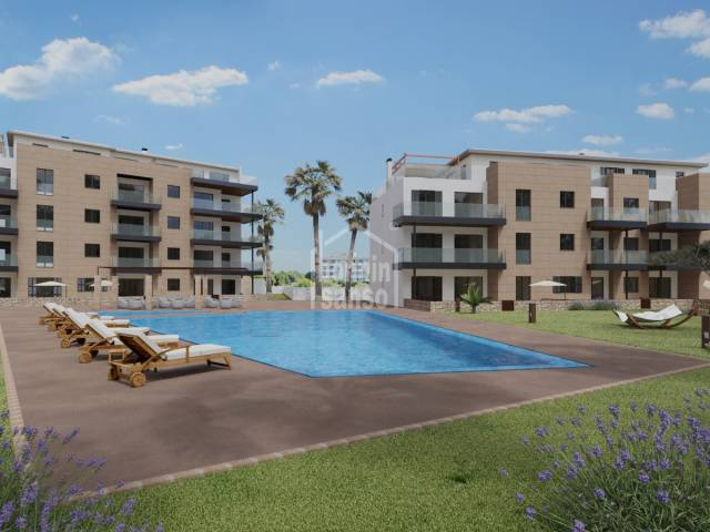 Modern new build ground floor apartment in Sa Coma, 10 minutes from the Beach, Mallorca
