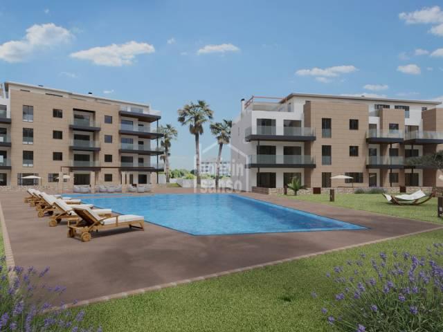 Moderna planta baja en Sa Coma de obra nueva, a 10 min. de la playa. Mallorca