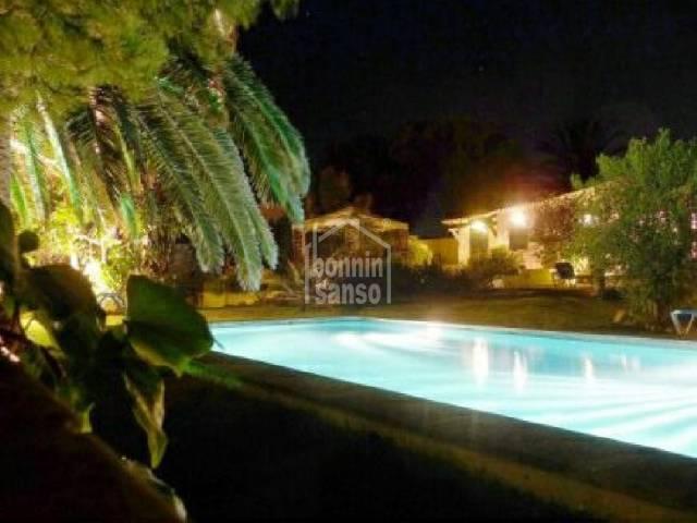 Spacious, detached villa in Cap den Font, Menorca