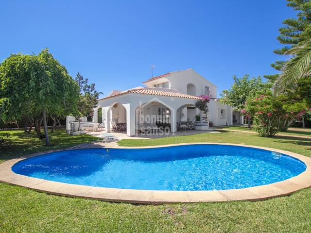 Beautiful villa with sea views and access to Calan Brut, Ciutadella, Menorca