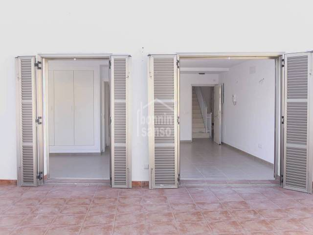 First floor flat with large terrace in the centre of Ciutadella, Menorca