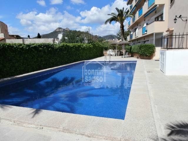 Apartment on 1st floor of aprox. 43m²  with pool