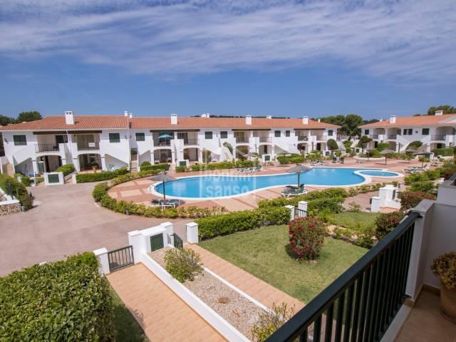 Bonito apartamento en primera planta en Addaya,Menorca