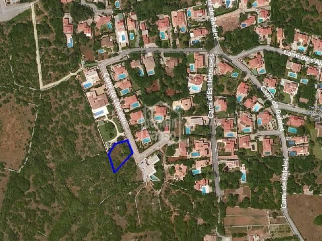 Solar urbano en Trebaluger, Menorca