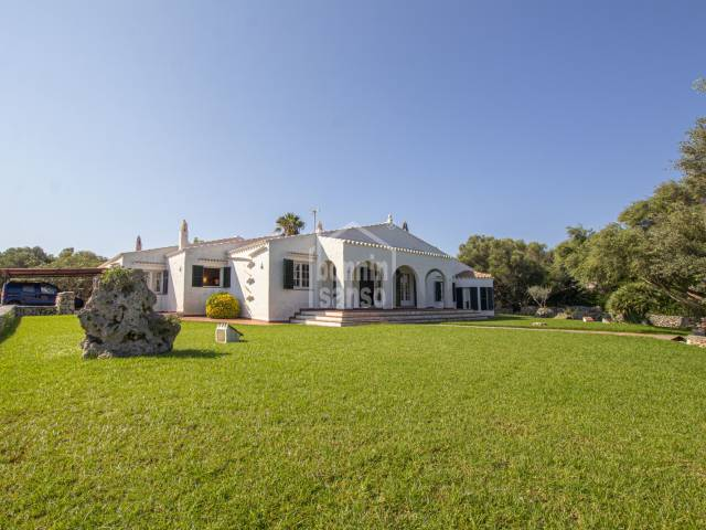 Country property close to the south coast. Menorca
