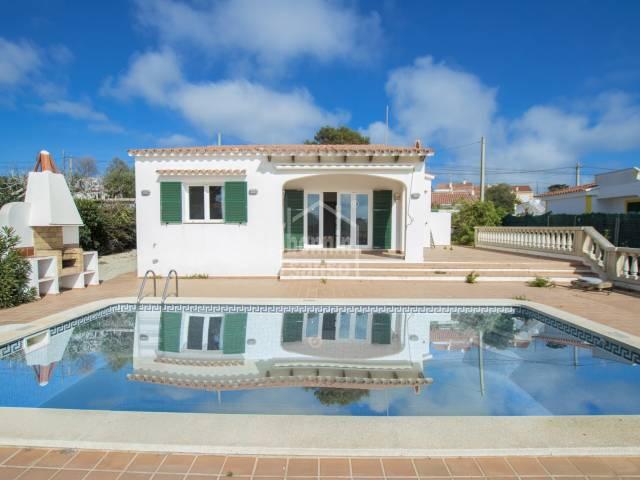 Fantastic villa in Calan Porter, Menorca