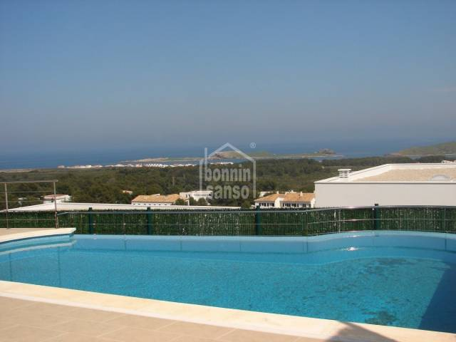 New villa with panoramic view s over the north coast