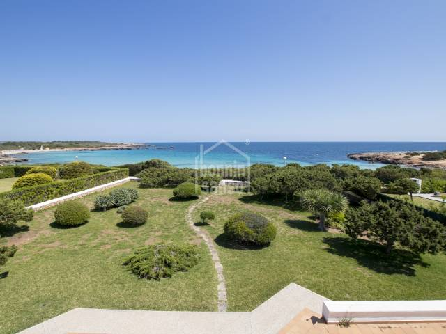 Large front line villa with direct access to the sea in Son Xoriguer, South Coast, Ciutadella, Menorca