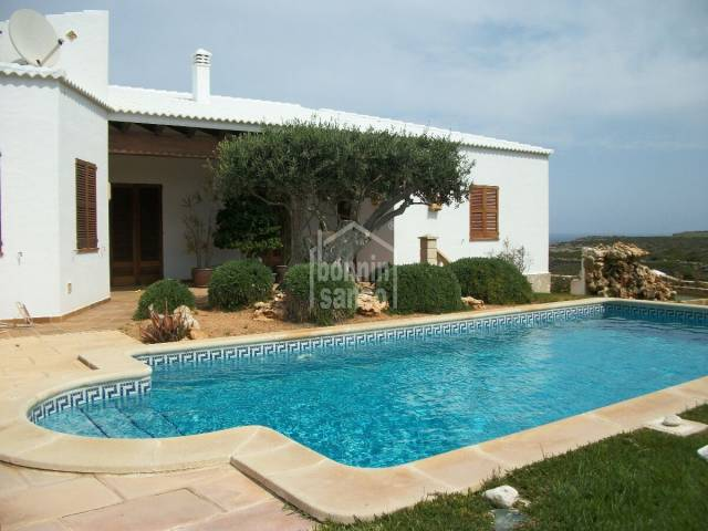 Villa with annex and private swimming poolCala Morell, Ciutadella, Menorca