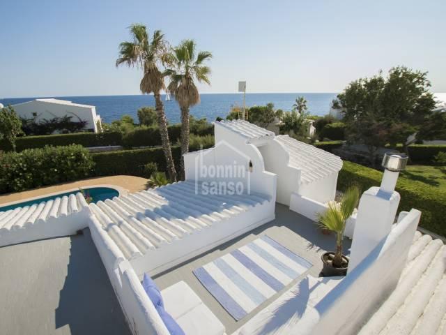 Absolutely Stunning villa with sea views in Cap den font, Menorca.