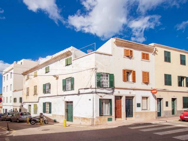 Town house to refurbish in Mahon, Menorca