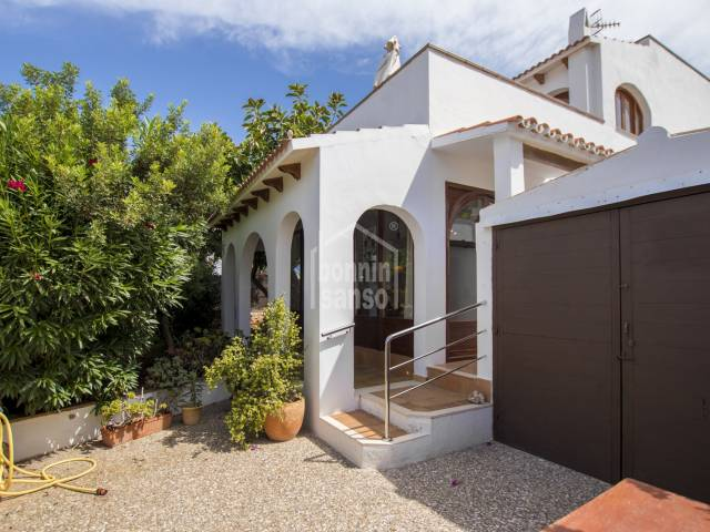 Spacious villa with garage in Cala Blanca, Ciutadella, Menorca