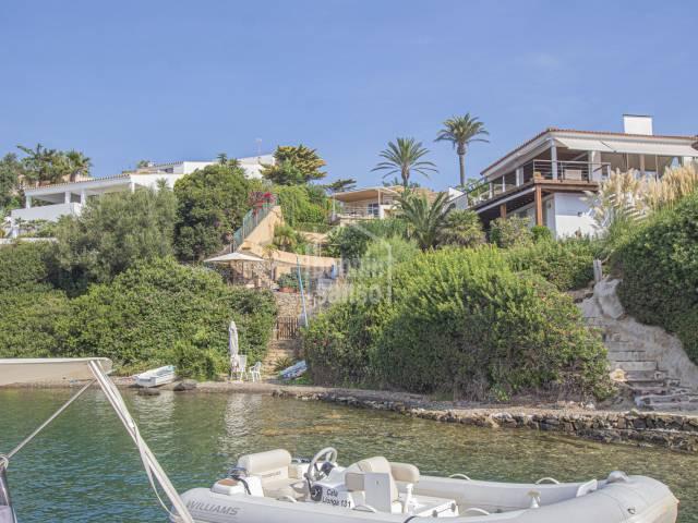 Chalet en primera linea del puerto de Mahón. Cala Llonga, Menorca