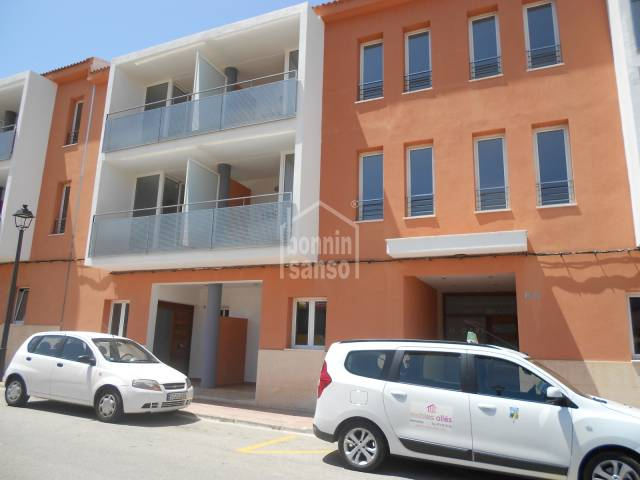 First floor apartment in Mercadal, Menorca.