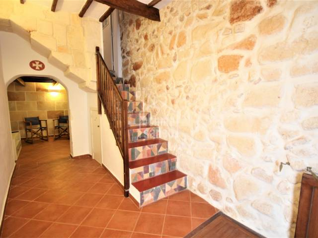 dining living room, Ladders, Entrance hall - House in the old town ready to move in, Ciutadella, Menorca