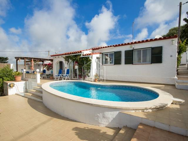Attractive villa located in Calan Porter, Menorca