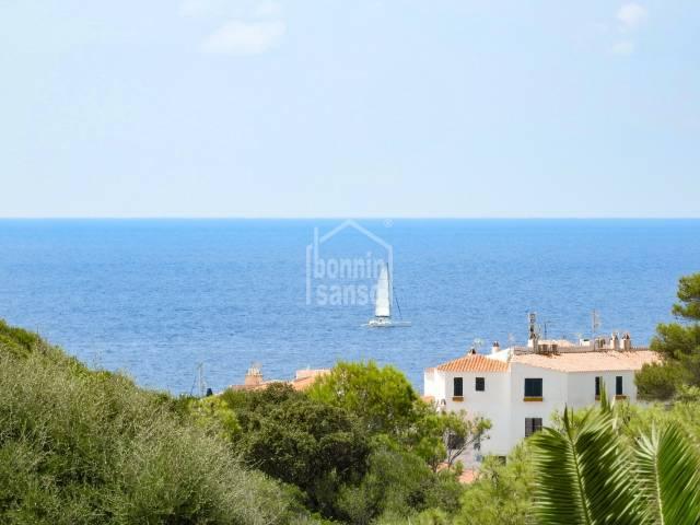 Chalet con vistas al mar en S'Atalaya, Binibeca, Menorca