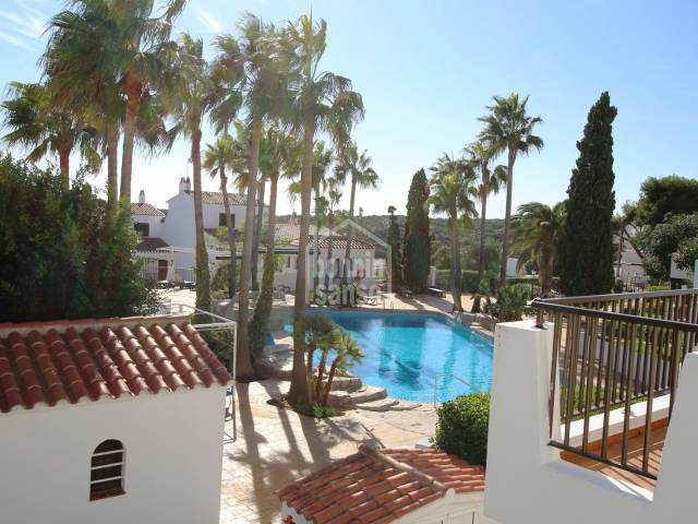 Refurbished first floor apartment in Calan Porter, Menorca