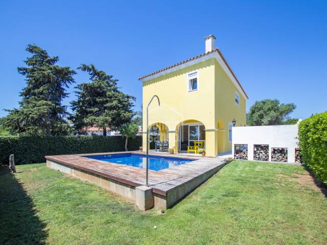 Pleasant villa in Son Vitamina, Menorca