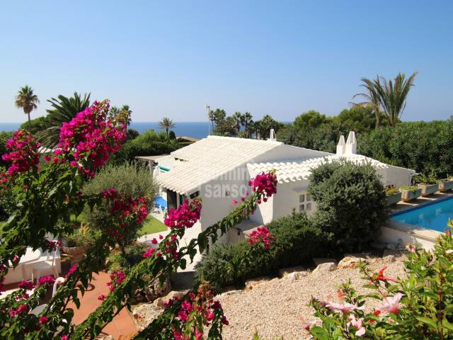 Complex of villa and 2 apartments in Binidali. Menorca