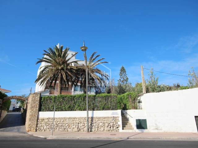 Ground floor apartment in Es Migjor, Menorca.
