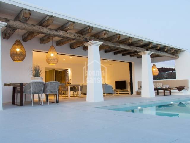 Magnificent recently built villa in Punta Grossa, Arenal d´en Castell, Menorca