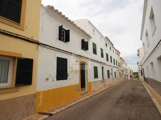 Typical townhouse in the center of Es Migjorn, Menorca