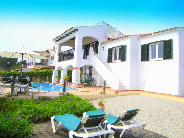Lovely villa with amazing sea views in Binibeca, Menorca