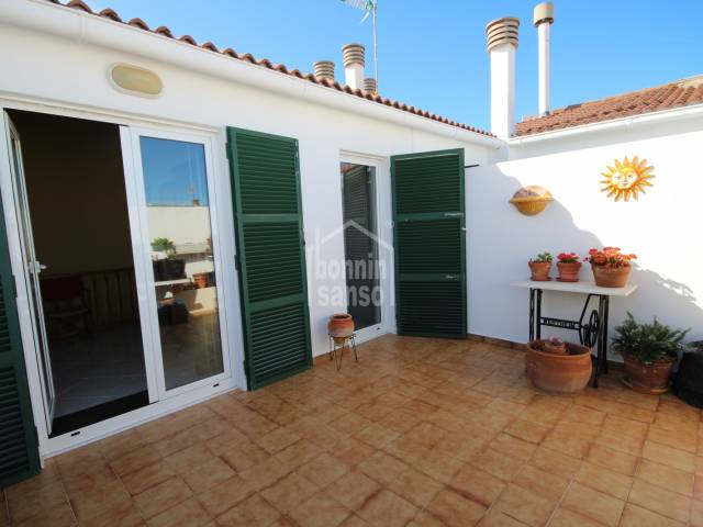 Second floor apartment near the old town center of Ciutadella, Menorca