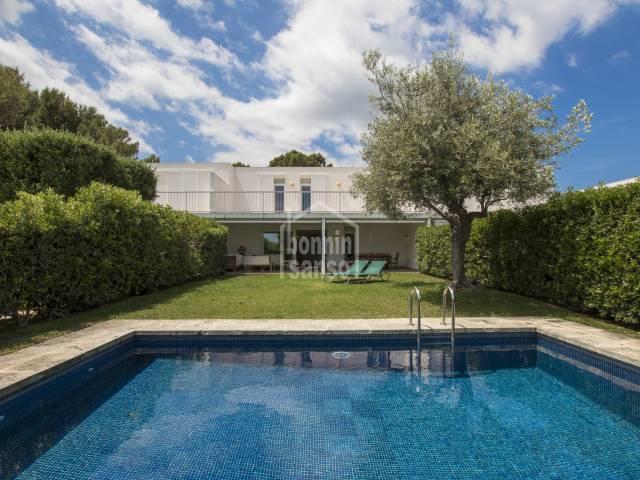 Villa in Coves Noves. Nordküste von Menorca
