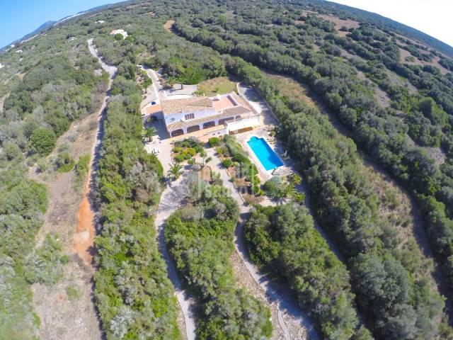 Luxurious country home with impeccable gardens in Menorca