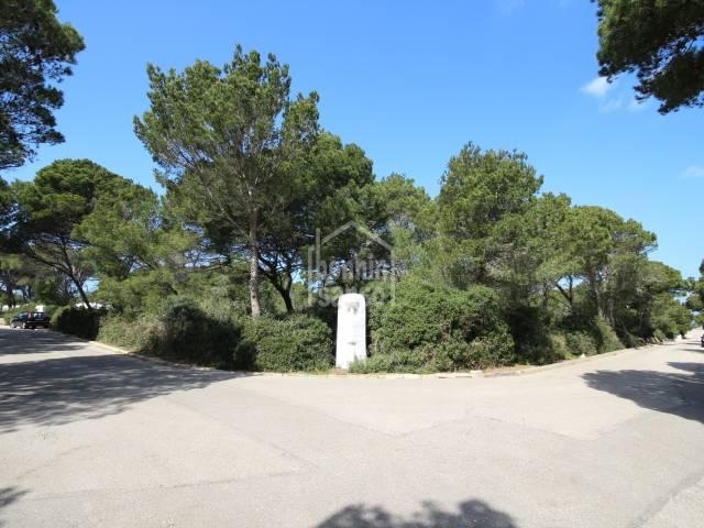 Magnificent plot of 1.460m2 in Cala Morell, Ciutadella, Menorca.