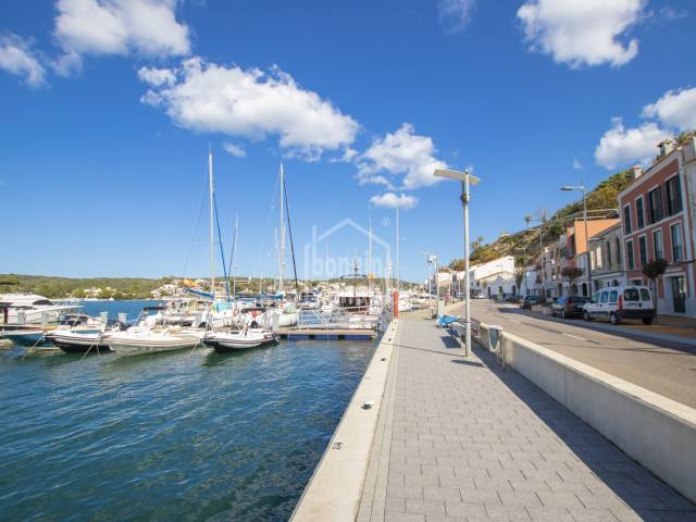 Lovely penthouse flat with views over the harbour, Mahon, Menorca