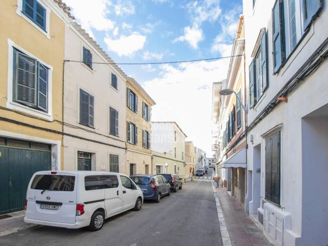Town house with terrace and patio in Mahon, Menorca