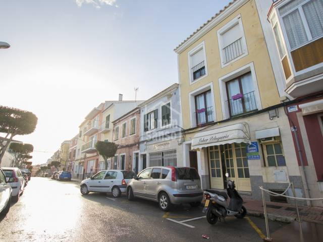 Business premises in the centre of Es Castell, Menorca.
