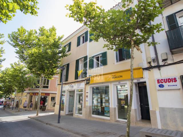 Newly built building in centre of Es Castell