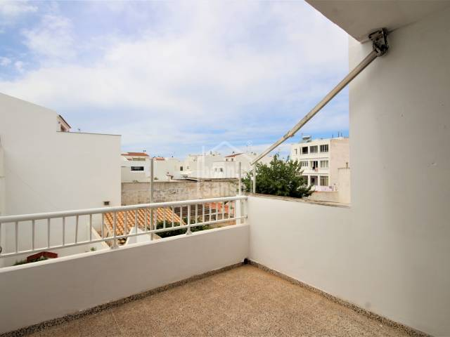 Centrally located second floor flat in Ciutadella, Menorca