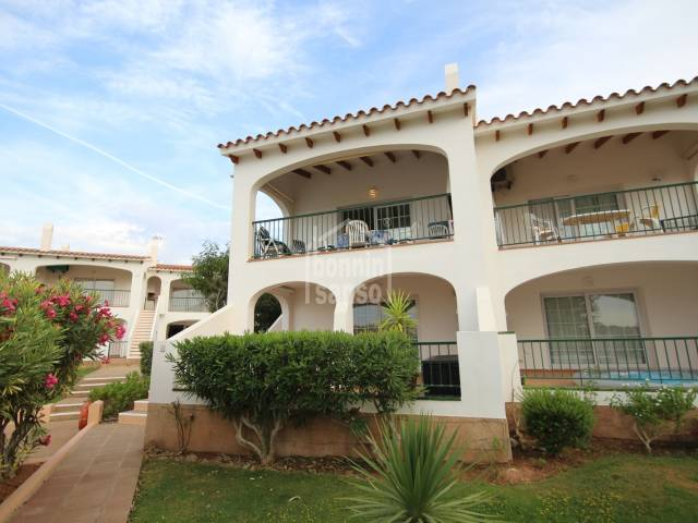 Apartment with views over the golf course in Son Parc, Menorca