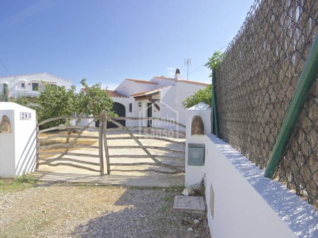 Cozy villa with private swimming pool in Trebaluger, Menorca