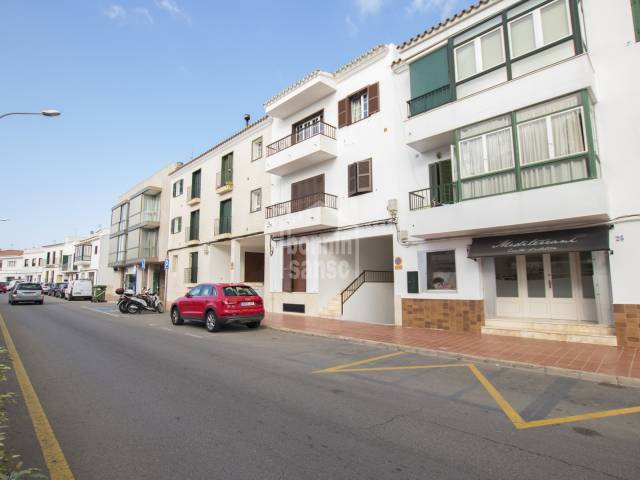 Attractive duplex in the centre of San Luis, Menorca.