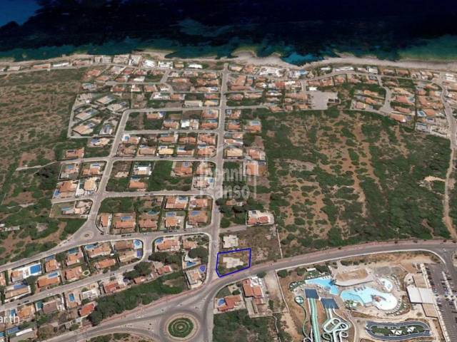 Interesting opportunity, a building plots on the south coast, Son Ganxo, Menorca