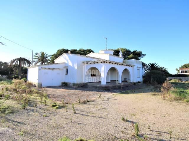 Detached house in a very extensive garden, Ciutadella, Menorca