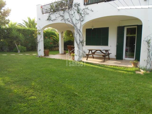Ground floor apartment in Arenal D'en Castell, Menorca