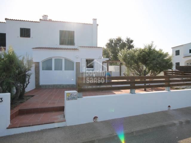 Ferienwohnung mit Meerblick in S'Algar, Menorca