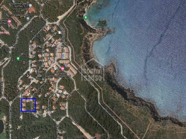 Plot of land in Son Parc, Menorca