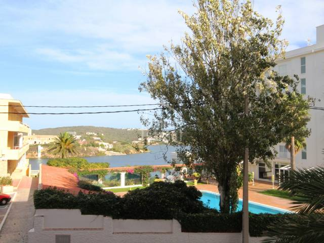 Apartment in Es Castell with Sea Views.