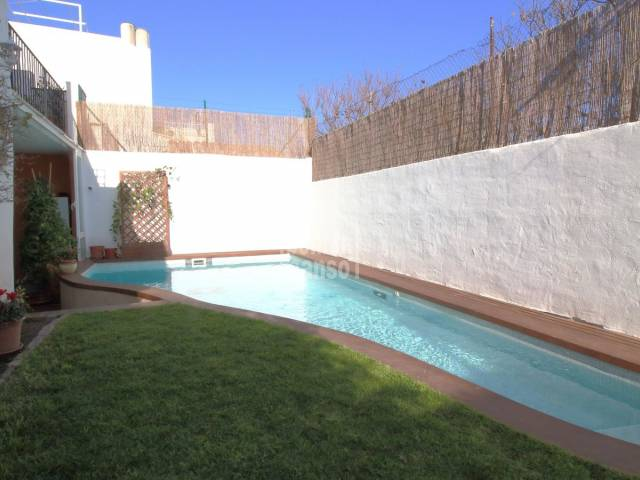 Town house with pool in Mahon, Menorca