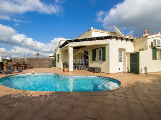 Lovely villa in Calan Poter, Menorca