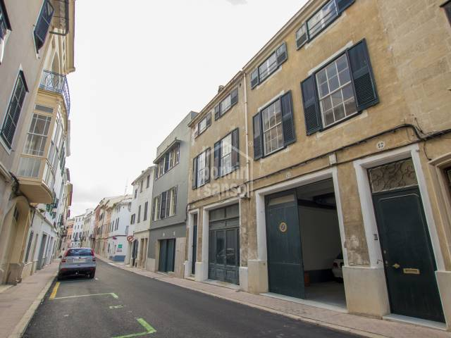Town house with garage, centre of Mahon, Menorca