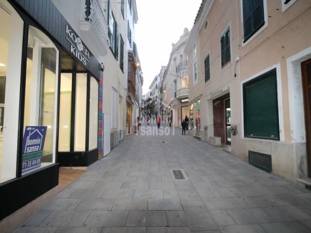 Premises in the centre of Mahon. Menorca
